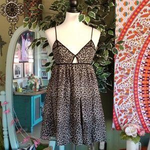 Romeo & Juliet Couture Animal Print Dress